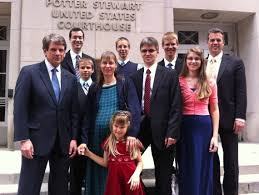 Romeike Family with Legal counsel Mike Farris