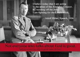 Hitler was Atheist