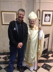 Jim and Bishop Chaput